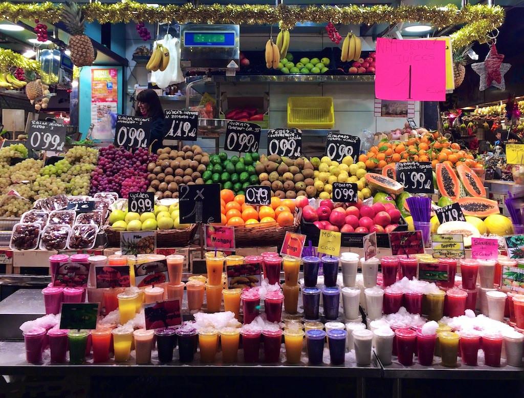 mercat de la boqueria spain