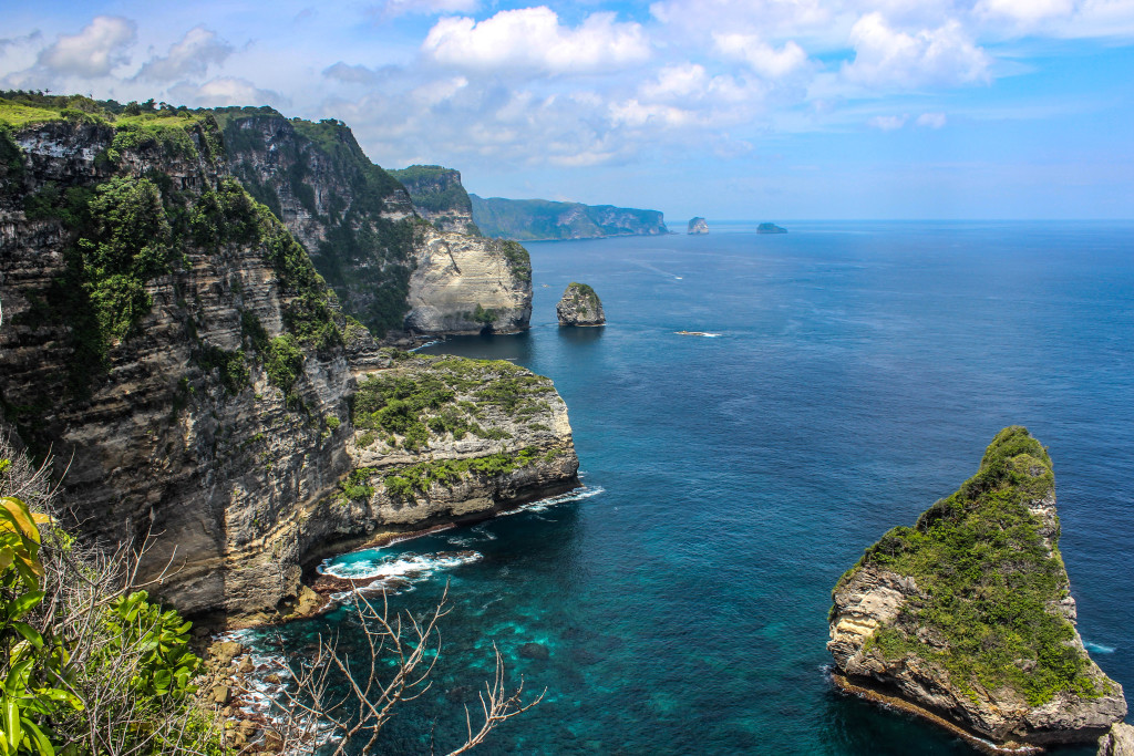 Nusa Penida cliffs