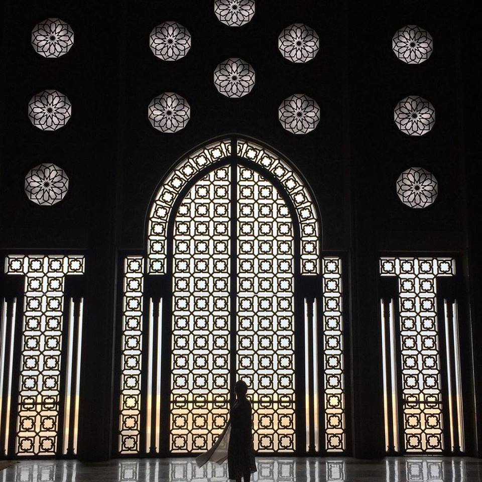 casablanca mosque inside