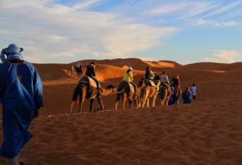 What it's Like Spending a Night in the Sahara Desert