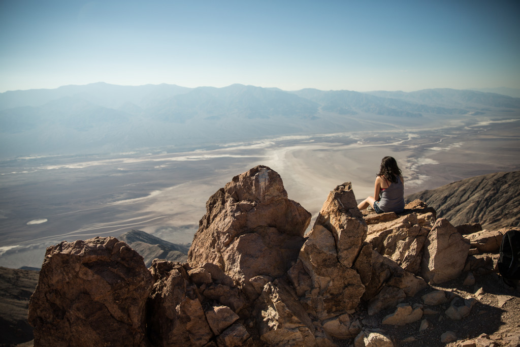 Dante's View in California's Death Valley National Park.