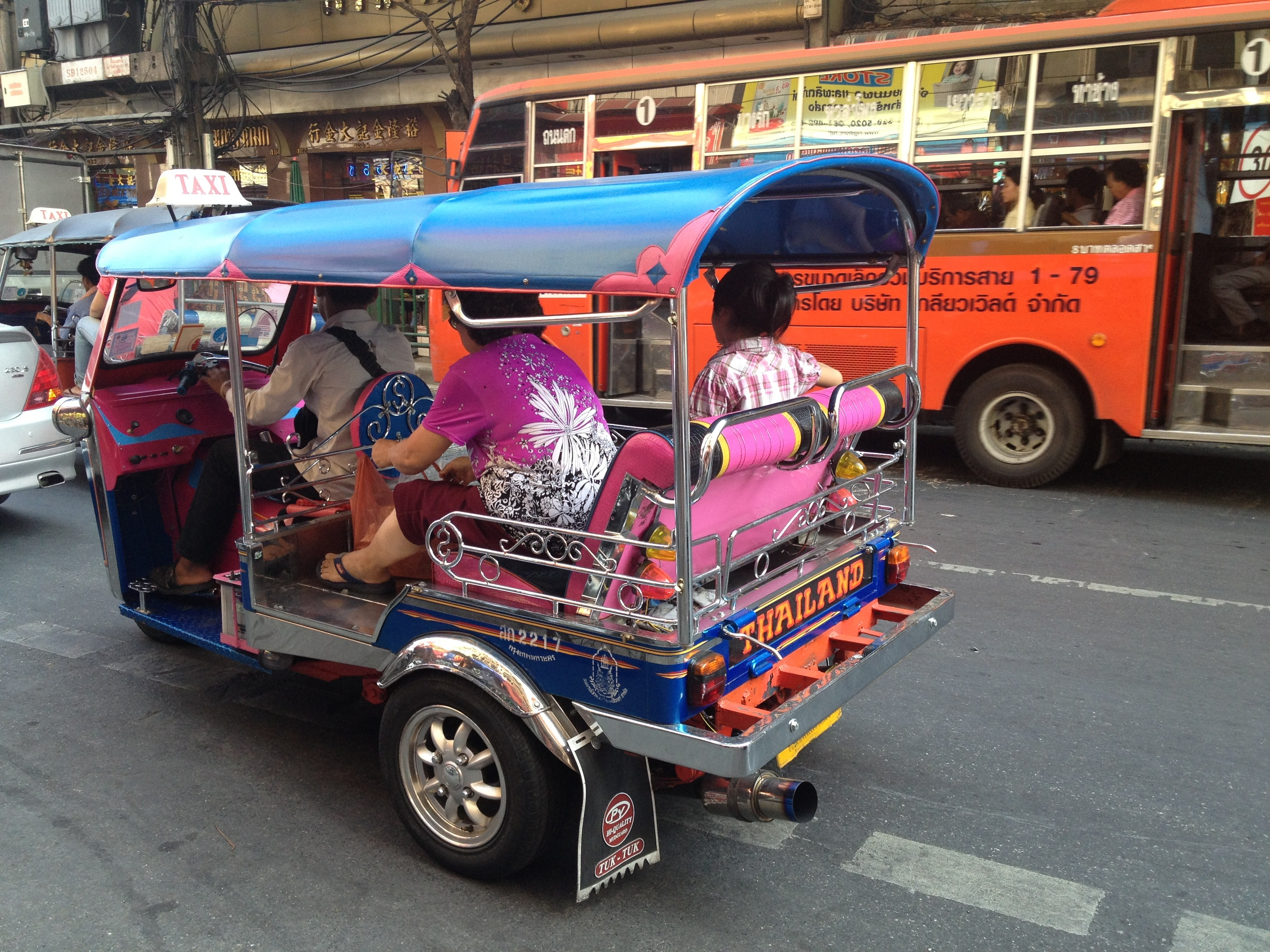 Top 10 Reasons You Must Visit Thailand- Transportation - Copy
