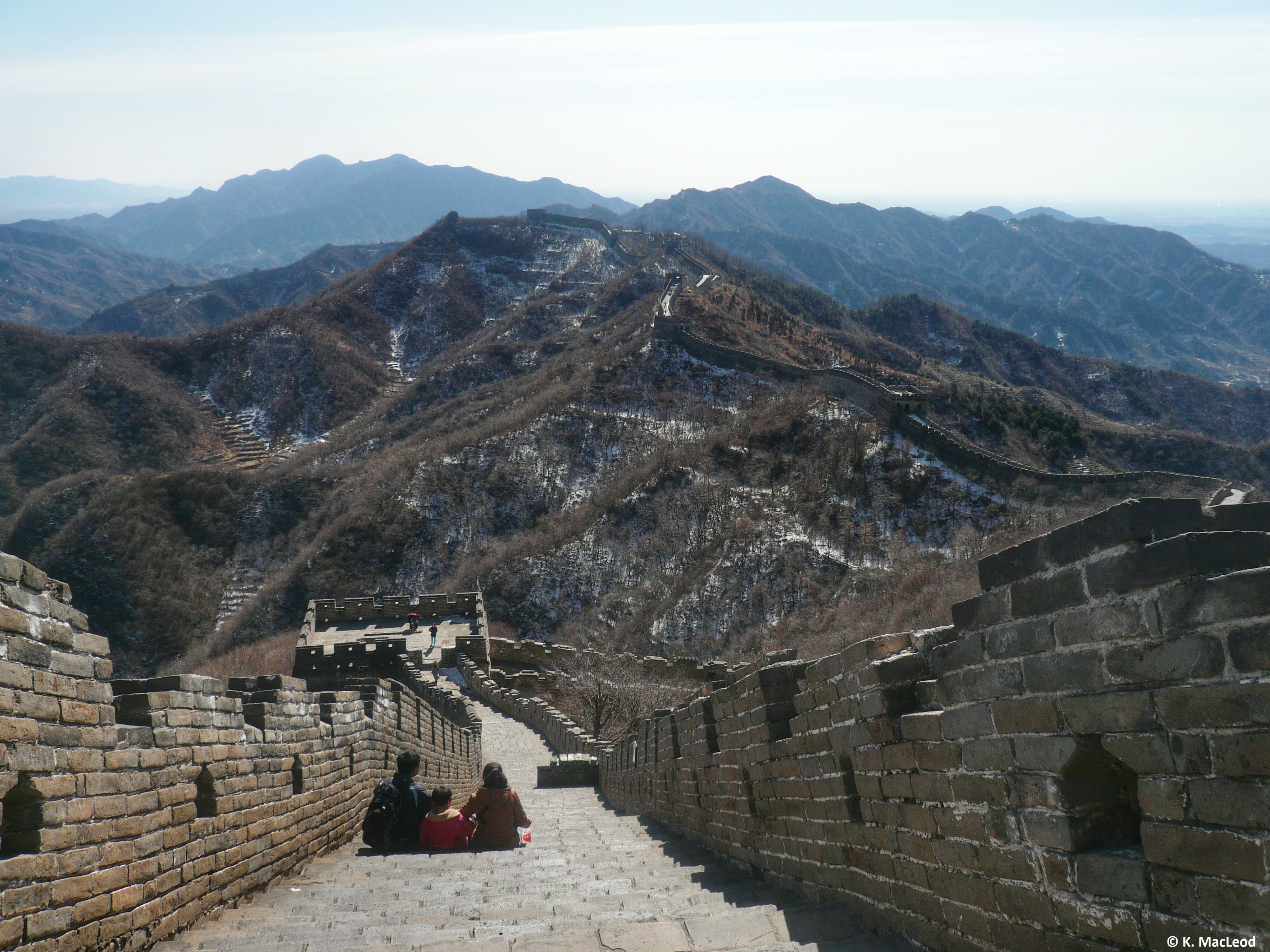 Family on the Great Wall-min