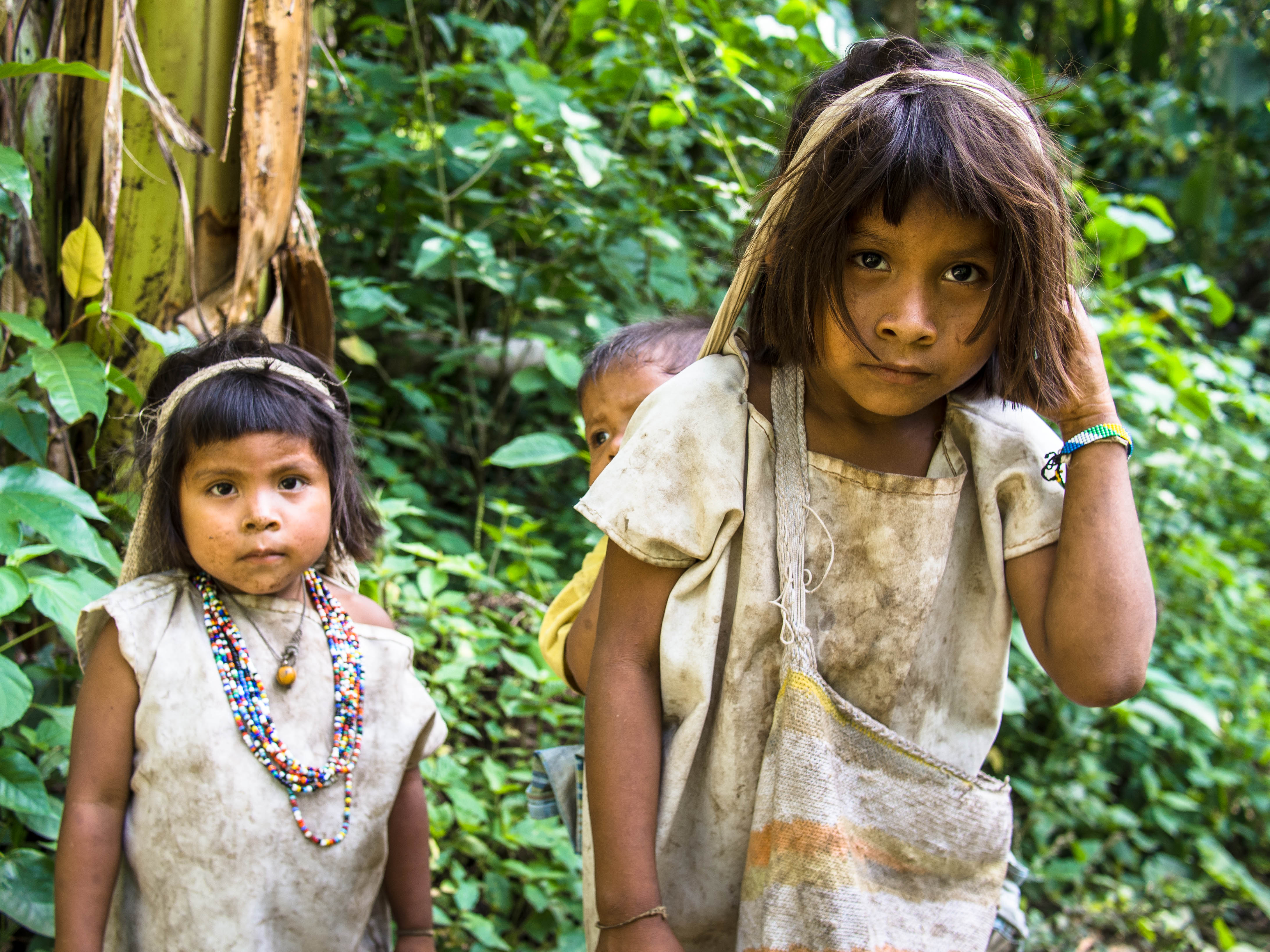 Kogi Children, Colombia