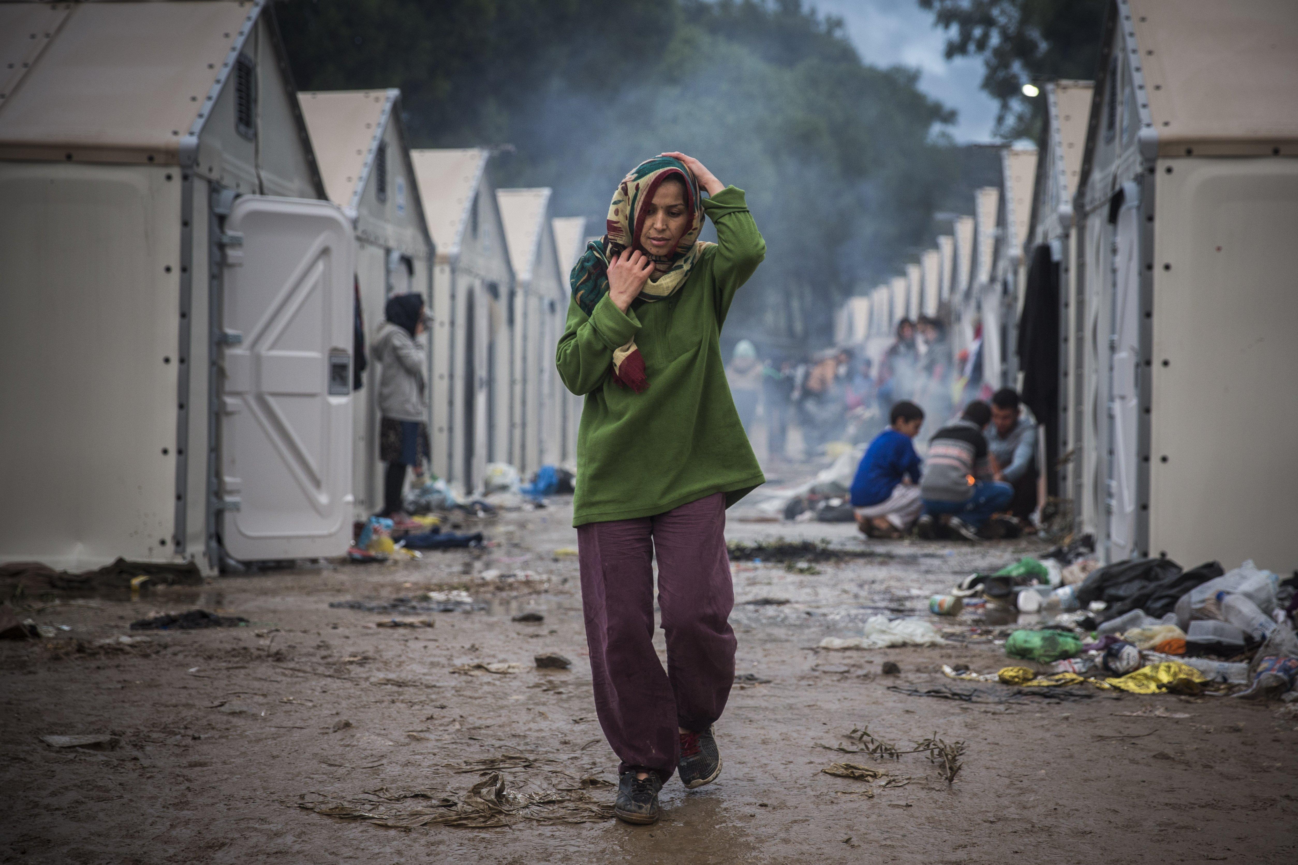 Santi Palacios_Moria Camp_Europe_Syrian Refugees