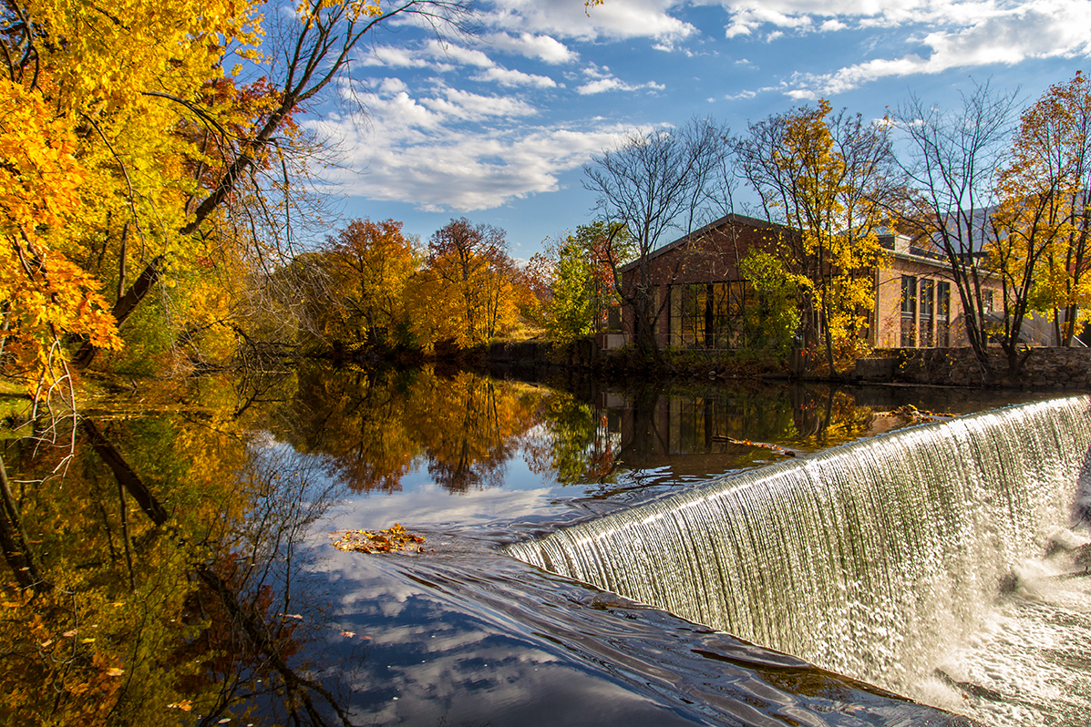 A magical colorful scene in Beacon during fall with amazing reflections and waterfalls that appear to start from the heavens. Please check out my facebook page at https://www.facebook.com/ThirdRockStudios or website at http://www.thirdrockstudios.com/. Thanks!