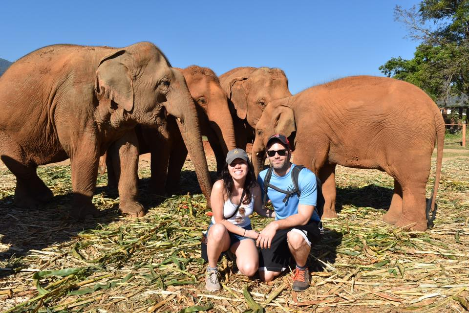 Elephant Nature Park in Chiang Mai, Thailand | © Nikki Vargas