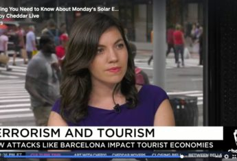 Travel and Terrorism: How You Can Stay Safe (My First Cheddar News Segment)